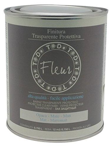 Fleur Designer'S Paint Fleur Vernice Finale Trasparente Opaca - 750 Ml