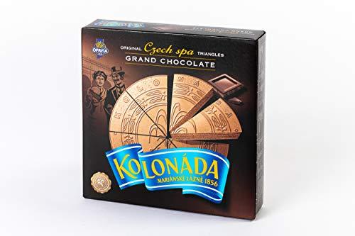 5 Packungen Oblaten Kolonada mit dunkler Schokolade (5 x 200 g) - dreieckige, vorgeschnittenen Stücke, siehe Abbildung