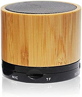 Wireless Natural Bamboo Bluetooth Speaker Portable Dock CPS500