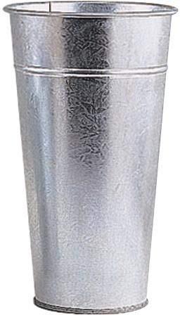 Vase Zink Garten schwere