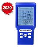 Indoor Air Quality Monitor Yvelines Accurate Tester for CO2...