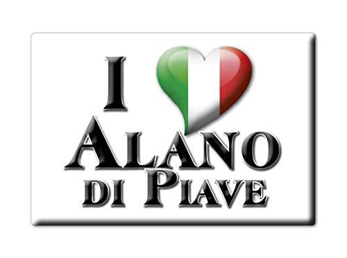 Enjoymagnets Alano DI PIAVE Souvenir IMANES DE Nevera Veneto IMAN Fridge Magnet Corazon I Love (VAR. GOCCIA)
