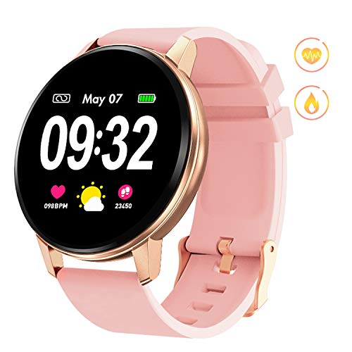 GOKOO Smart Watch for Women with Activity Fitness Waterproof...