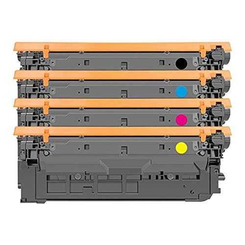 N\C Adecuado para Cartucho de tóner HP M553 HP508A CF360A 552dn / n 553dn / x 577dn / f/z Cartucho de Tinta