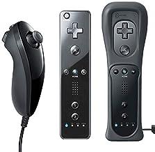 QUMOX Controllo remoto del Telecomando + Nunchuck per Nintendo Wii/Wii U