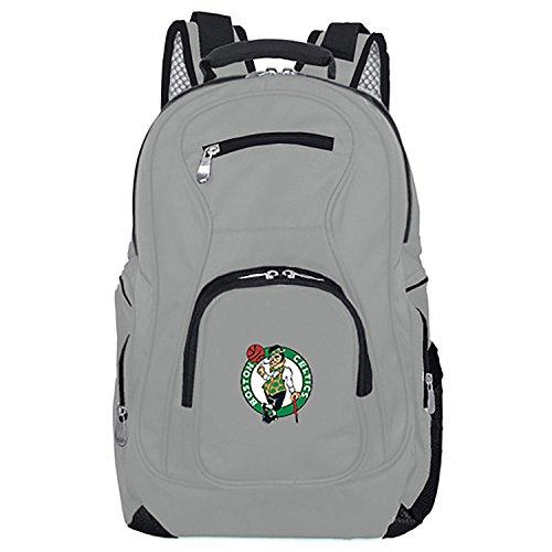 NBA Boston Celtics Voyager Laptop Backpack, 19-inches, Grey