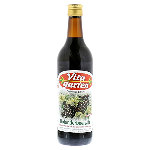 VITAGARTEN Holunderbeer Saft 750 ml