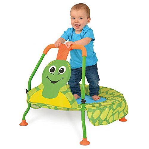 Galt Nursery Trampoline, Toddler Trampoline for Ages 1+, Multicolored