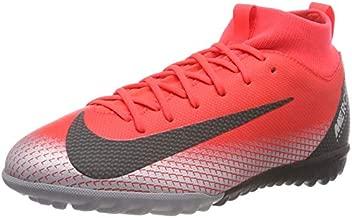 Nike Youth Soccer Jr. SuperflyX Academy CR7 Turf Shoes (4 M US Big Kid)