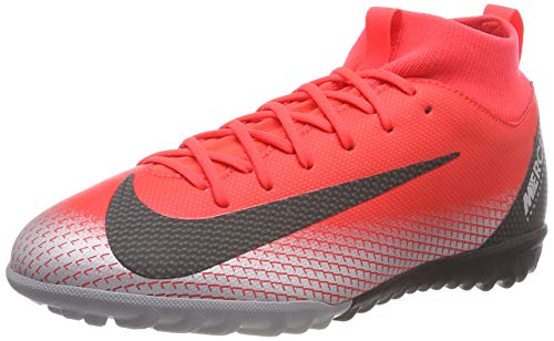 Nike CR7 Jr. SuperflyX 6 Academy (TF) Turf Soccer Shoe (1.5) Red