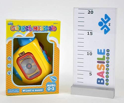 Telecamera in plastica Lumières Et Sons 0-3anni