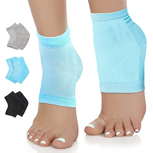 Nado Care Moisturizing Socks Lotion Gel for Dry Cracked Heels - Spa Gel Socks Humectant Moisturizer...