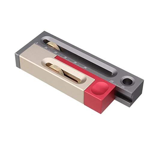 TraveT Saw Slot Adjuster Woodworking Tables Measuring Blocks Adjustment Tool Measuring Instrument