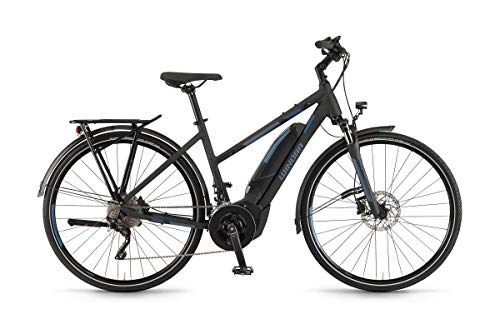 Winora Yucatan i20 500 Damen Pedelec E-Bike Trekking Fahrrad schwarz 2019: Größe: 52cm