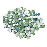 SUPVOX 300 Pezzi Tessere di Mosaico di Cristallo Pietre di Mosaico Piastrelle di Vetro Art...