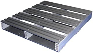 Jifram 05000092 36-Inch by 32-Inch 2-Way Entry Recycled Plastic Pallet with 2000 Pound Weight Capacity