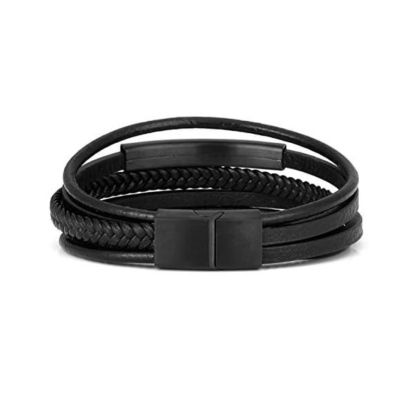 Jovivi 2 Pcs Unisex Bead Bracelet 4