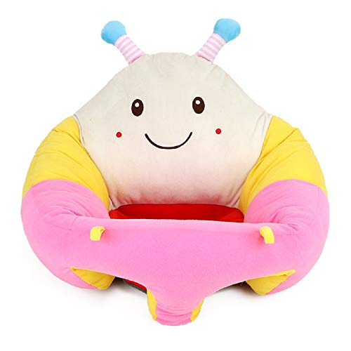 Fantastic Prices! MISOWN Baby Plush Seat Infant Baby Soft Support Seat Cartoon Animal Dining Seat Safe Sitting Chair Learning to Sit Chair 20.47inch (20.4719.688.26 inch, Bee)