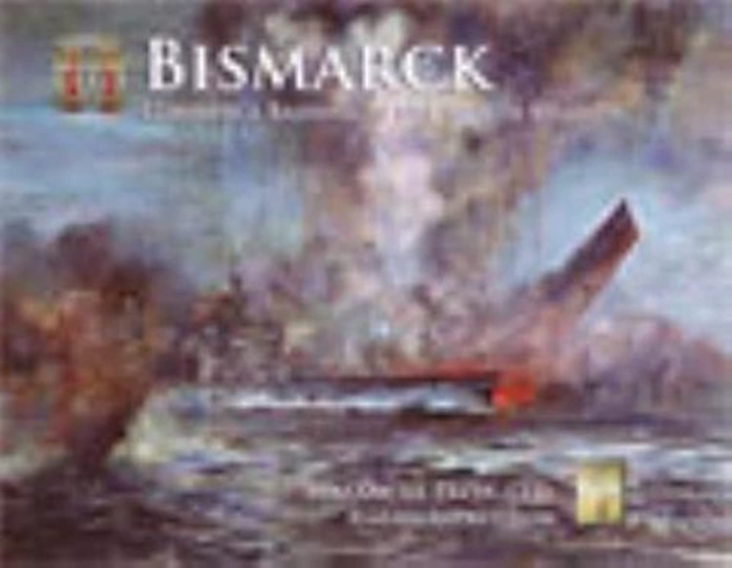 APL  Bismarck Boardgame for the Second World War at Sea Game Series by Avalanche Press Second World War at Sea