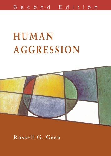 Human Aggression (Mapping Social Psychology)