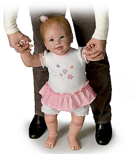 Isabella s First Steps Walks with Your Help! - So Truly Real Lifelike, Interactive & Realistic Baby Doll 26-inches by The Ashton-Drake Galleries