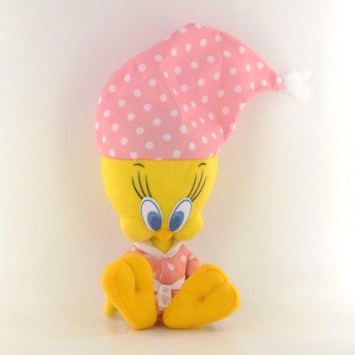 Peluche Piolín Tweety pijama surtido T1 25cm - Rosa
