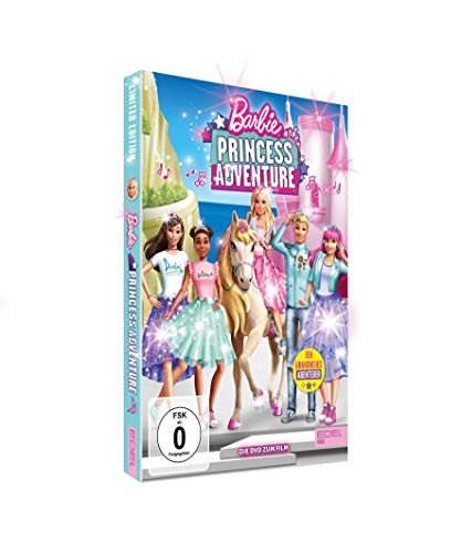 Barbie Princess Adventure - Die DVD zum Film (Limited Edition im hochwertigen Glitzerschuber)