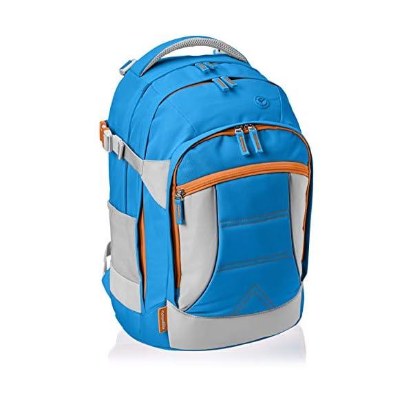 41doq8GStAL. SS600  - AmazonBasics - Mochila ergonómica (azul, 30 litros)