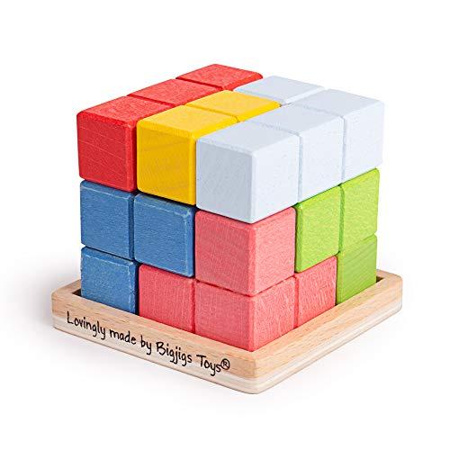 Bigjigs Toys Lock-a-Cube