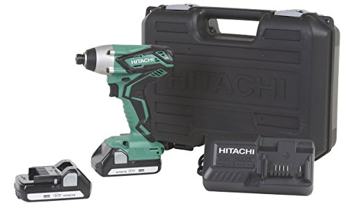 Hitachi WH18DGL 18-Volt 1/4-Inch Cordless Lithium Ion Impact Driver Kit (Lifetime Tool Waranty) - http://coolthings.us
