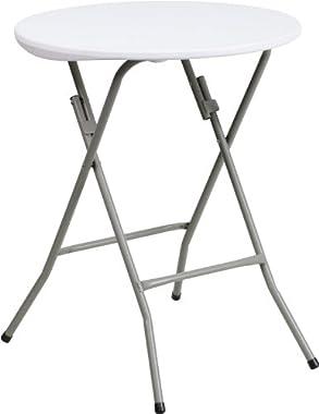 Zuffa Home Furniture White Plastic folding table
