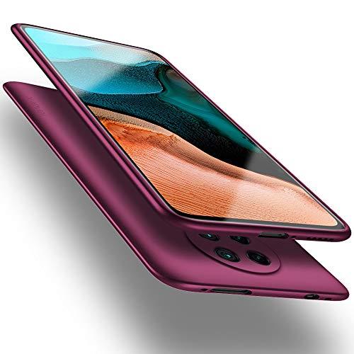 X-level Funda para Xiaomi Poco F2 Pro, Carcasa para Xiaomi Poco F2 Pro Suave TPU Gel Silicona Ultra Fina Anti-Arañazos y Protección a Bordes Case para Xiaomi Poco F2 Pro - Vino Rojo