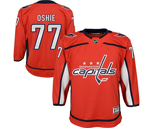 NHL by Outerstuff Youth Washington Capitals TJ Oshie Home Premier Player Jersey (Youth L/XL)