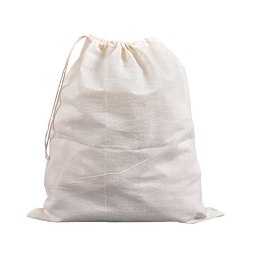 "CONIE 16""x19"" All Purpose Drawstring Straining Brew in a Bag Cheesecloth Nut Milk Bag"