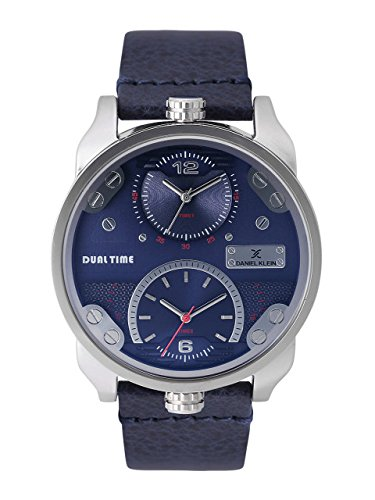Daniel Klein Analog Blue Dial Men's Watch - DK11125-2