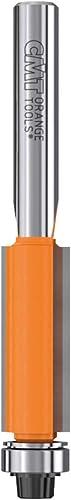 popular CMT 806.095.11 online sale Flush Trim bit, 2021 1/4-Inch Shank, 1-Inch Cutting Length, Carbide-Tipped online sale
