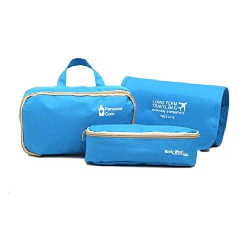 OW-Travel, Trousse de Toilette Bleu Bleu 1 Pack