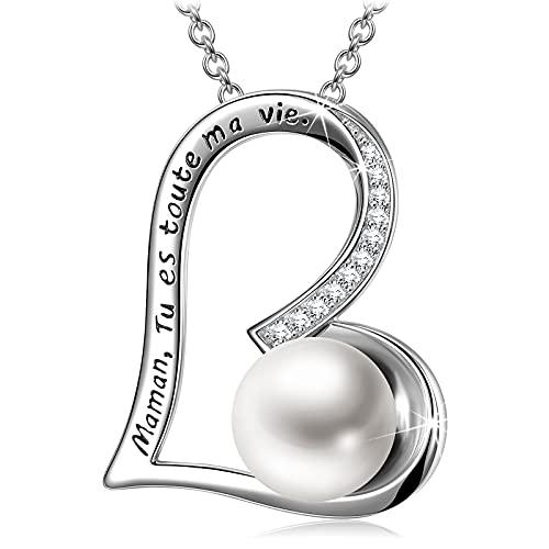 Collar-Mujer Collar-Plata-925 Collar-Perlas Joyería Mujer-Regalos