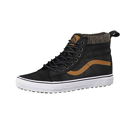 Vans Mens SK8-Hi MTE Black/Tweed Sneaker – 11