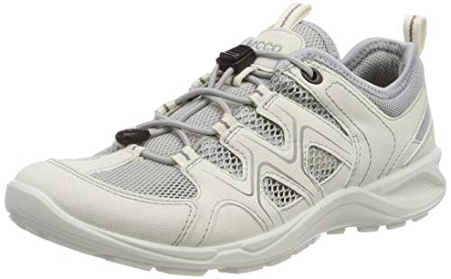 ECCO TERRACRUISELTW, Scarpe da Arrampicata Basse Donna, (Shadow White/Concrete 54696), 42 EU