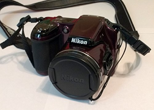 Nikon COOLPIX L820 16 MP Digital Camera with 30x Zoom (Plum)