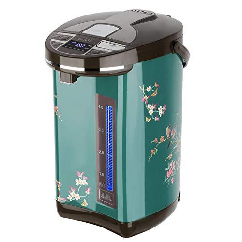 LIU UK Electric Kettle Wasserkocher Thermos Automatische 3.8l / 5l / 6l GroßE KapazitäT Konstante Temperatur Wasserkocher Digitale GroßBild Echtzeit Anzeige Temperatur