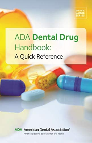 ADA Dental Drug Book A Quick Reference product image