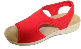 Susimoda Sandalo Elasticizzato in Licra Rosso