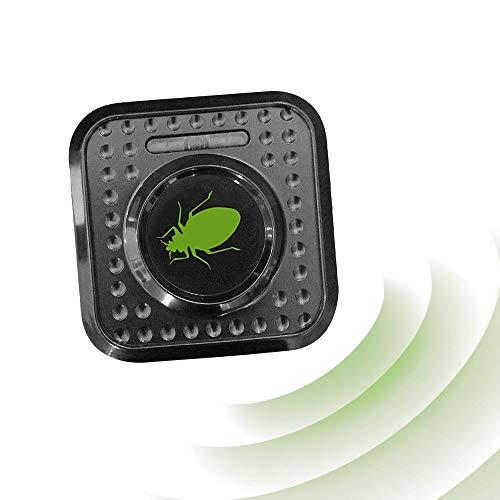 ISOTRONIC Ahuyentador de ácaros e insectos con ultrasonidos | Elimina ácaros e insectos del colchón con ultrasonidos | Repelente ultrasónico de ácaros / chinches de cama / insectos | Eléctrico (230 V)