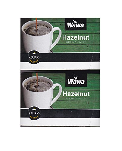 Wawa Single Cup Coffee K-cups for Keurig Brewers - 24 Count (Hazelnut)