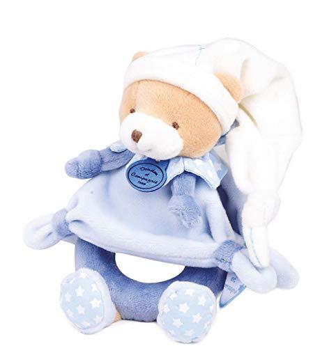 Doudou et Compagnie Petit Chou Hochet Bleu