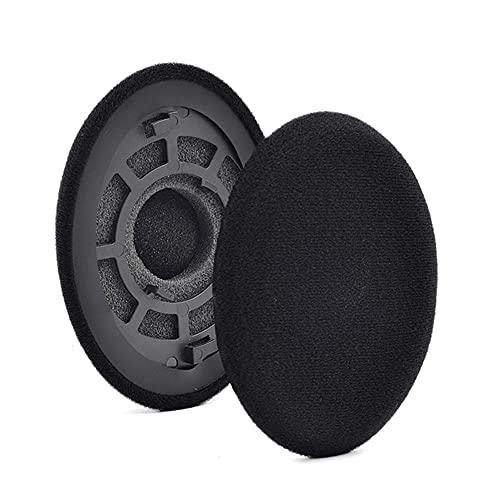 Tela/cuero+espuma suave auriculares auriculares almohadillas cojín reemplazo para Sennheiser RS120/HDR120/RS100/RS115/RS119
