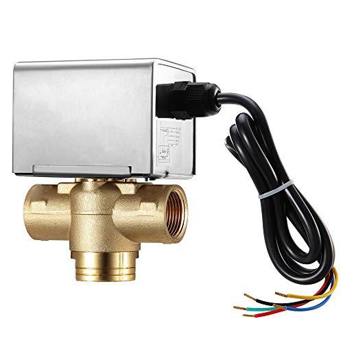 Valemo Zone Valve V33B3-A3S - Valvola di zona motorizzata a 3 Vie normalmente chiusa 3/4' BSP con microinterruttore ausiliario 230VAC