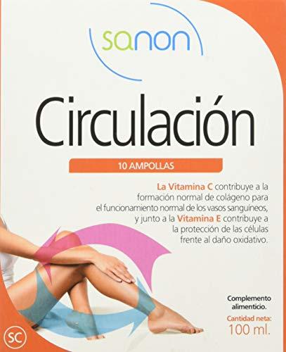 SANON Circulación 10 ampollas, 10 ml
